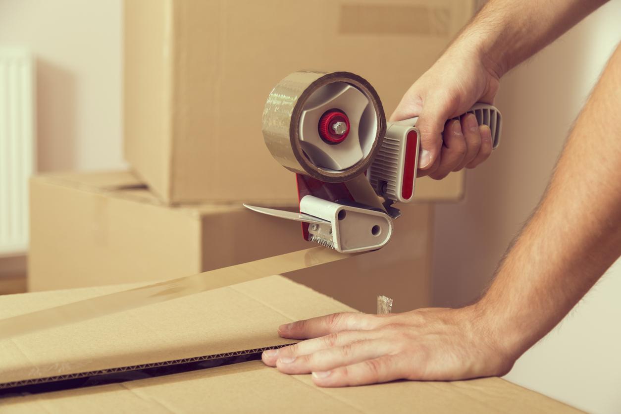 emballer ses cartons lors d'un déménagement